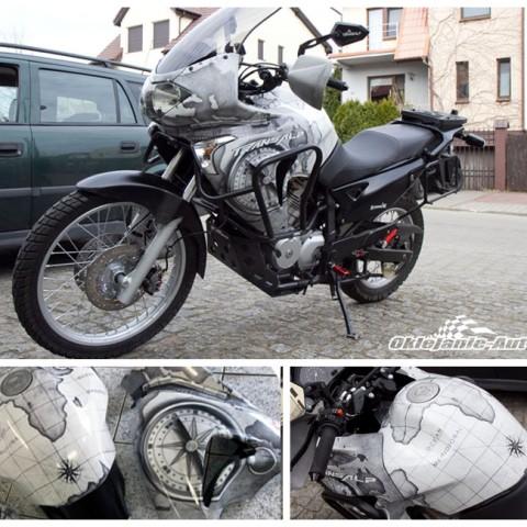 zmiana koloru motocykl