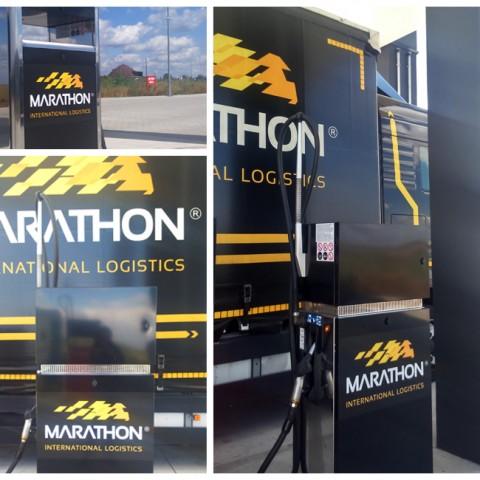 Marathon-oklejenie-dystrybutorów