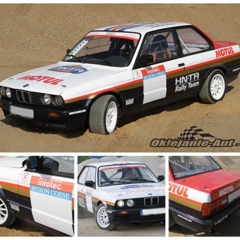Reklamy na samochód BMW M3 Rothmans